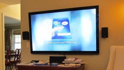 Flat Screen Tv Wall Mount Installation In Rancho Murieta Ca